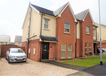 Thumbnail 4 bed semi-detached house for sale in Lindara Crescent, Larne