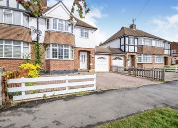 Thumbnail 3 bed semi-detached house for sale in Uplands Road, Oadby, Leicester