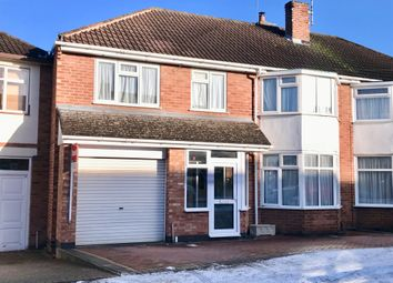 Thumbnail 5 bedroom semi-detached house for sale in Greenbank Drive, Oadby, Leicester