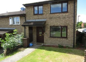 Thumbnail 2 bed end terrace house to rent in Raleigh Close, Chatham