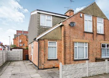 Thumbnail 4 bed semi-detached house for sale in Rosebery Street, North Evington, Leicester