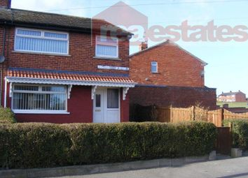 Thumbnail 3 bed semi-detached house to rent in Richardson Avenue, Bishop Auckland