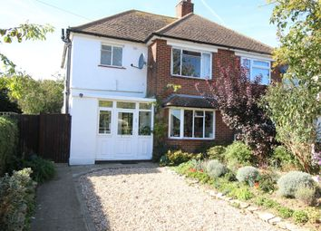 Thumbnail 3 bed semi-detached house for sale in Hugin Avenue, Broadstairs