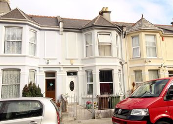 Thumbnail 4 bed terraced house for sale in Pasley Street, Stoke, Plymouth