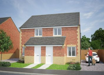Thumbnail 2 bed semi-detached house for sale in Shieldrow Park, Shieldrow Lane, New Kyo, Stanley, County Durham