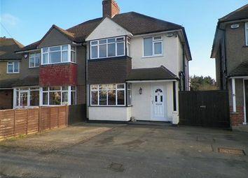 Thumbnail 3 bed semi-detached house for sale in Courtfield Gardens, Denham, Uxbridge
