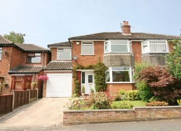 Thumbnail 4 bed semi-detached house for sale in Stetchworth Drive, Worsley, Manchester