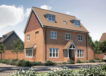 "Thumbnail 4 bed detached house for sale in ""The Orford"" at Winchester Road, Boorley Green, Botley"