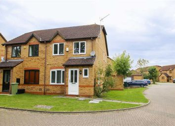 Thumbnail 3 bed semi-detached house for sale in Treborough, Furzton, Milton Keynes