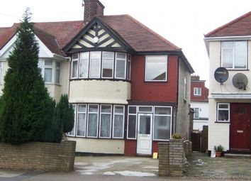 Thumbnail 3 bed semi-detached house to rent in Princes Avenue, London