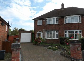 Thumbnail 3 bed semi-detached house for sale in Balcombe Avenue, New Parks, Leicester, Leicestershire
