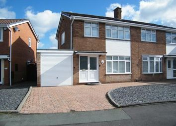Thumbnail 3 bed semi-detached house for sale in Beccles Drive, Willenhall, West Midlands