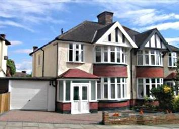 Thumbnail 3 bedroom semi-detached house to rent in Raleigh Drive, London
