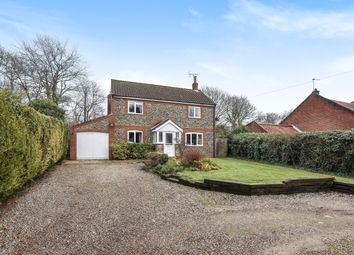 Thumbnail 3 bed detached house for sale in Swanton Road, Gunthorpe, Melton Constable
