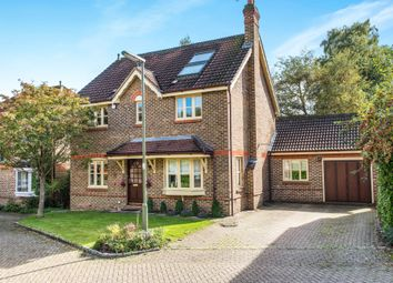 Thumbnail 5 bed detached house for sale in Falcon Close, Lightwater, Surrey