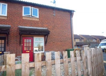 Thumbnail 1 bed end terrace house to rent in Corby Crescent, Portsmouth