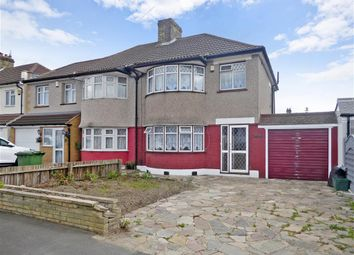 Thumbnail 3 bed semi-detached house for sale in Okehampton Crescent, Welling, Kent