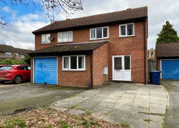 Thumbnail 3 bed semi-detached house for sale in Eaton Socon, St Neots, Cambridgeshire
