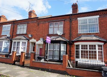 Thumbnail 2 bedroom terraced house for sale in Kimberley Rd, Leicester