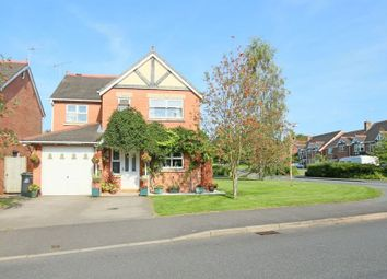 Thumbnail 4 bed detached house for sale in Stuart Way, Market Drayton
