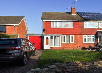Thumbnail 3 bed semi-detached house for sale in Southcrest Road, Lodge Park, Redditch