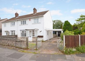 Thumbnail 3 bedroom semi-detached house for sale in Cedar Road, Chesterton, Newcastle-Under-Lyme
