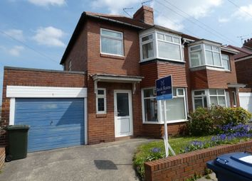 Thumbnail 3 bedroom semi-detached house for sale in Briarfield Road, Gosforth, Newcastle Upon Tyne