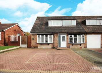 Thumbnail 3 bedroom semi-detached bungalow for sale in Elmwood Close, Over Hulton, Bolton, Lancashire.