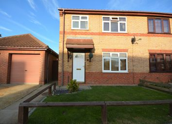 Thumbnail 3 bed semi-detached house for sale in Charter Way, Carlton Colville, Lowestoft
