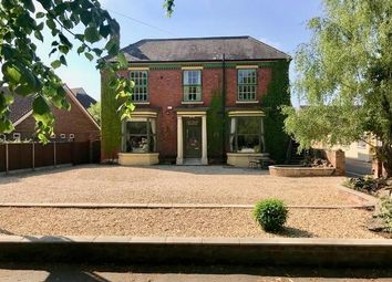 Thumbnail 12 bed detached house for sale in Barton Road End, Brigg Road, Wrawby, Brigg