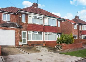 Thumbnail 3 bedroom semi-detached house for sale in Meadowfields Drive, Huntington, York