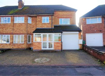 Thumbnail 5 bed semi-detached house for sale in Highcroft Avenue, Oadby