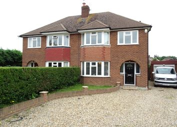 Thumbnail 3 bed semi-detached house for sale in Selbourne Close, New Haw