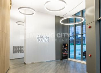 Thumbnail 1 bed flat to rent in Arena Tower, 30 Crossharbour, Canary Wharf