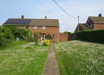 Thumbnail 3 bed semi-detached house for sale in Cross Street, Salthouse, Holt