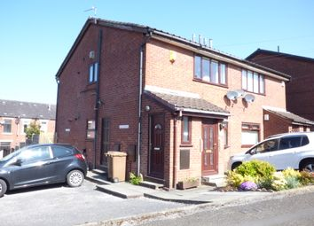 Thumbnail 2 bed flat for sale in Vicarage View, Rochdale