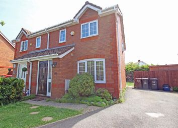 Thumbnail 3 bed semi-detached house for sale in Melrose Close, Hailsham