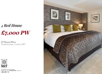 Thumbnail 4 bedroom detached house to rent in Cheval Place, London