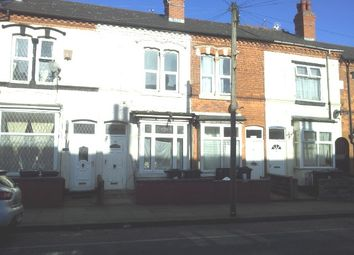 Thumbnail 3 bed terraced house to rent in Uplands Road, Handsworth, Birmingham