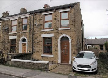 Thumbnail 3 bed end terrace house for sale in Kershaw Street, Glossop, Derbyshire