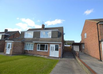 Thumbnail 3 bed semi-detached house for sale in Fairburn Drive, Garforth, Leeds, West Yorkshire