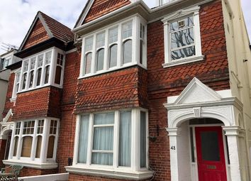 Thumbnail 1 bed flat to rent in Rutland Gardens, Hove