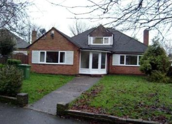 Thumbnail 5 bedroom bungalow to rent in Chestnut Close, Solihull