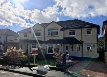 Thumbnail 3 bedroom semi-detached house for sale in Cambridge Gardens, Beaufort, Ebbw Vale