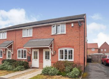 Thumbnail 2 bed town house for sale in Tacitus Way, North Hykeham