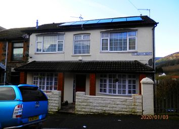 Thumbnail 3 bed end terrace house for sale in St. Albans Road, Tynewydd, Rhondda Cynon Taff.