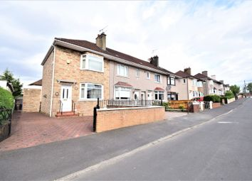 Thumbnail 2 bed end terrace house for sale in Hathersage Drive, Glasgow