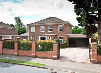 Thumbnail 4 bed detached house to rent in Oatlands Chase, Weybridge