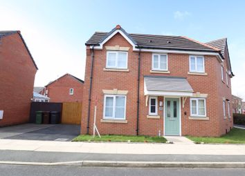 Thumbnail 3 bed semi-detached house to rent in Westfields Drive, Bootle