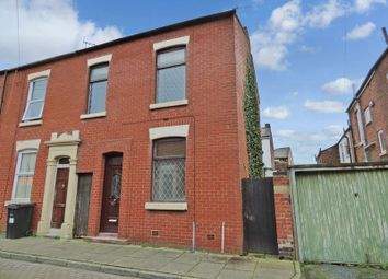 Thumbnail 3 bedroom end terrace house for sale in Elgin Street, Preston, Lancashire
